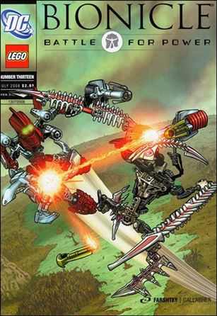 Bionicle: Battle For Power 13-A