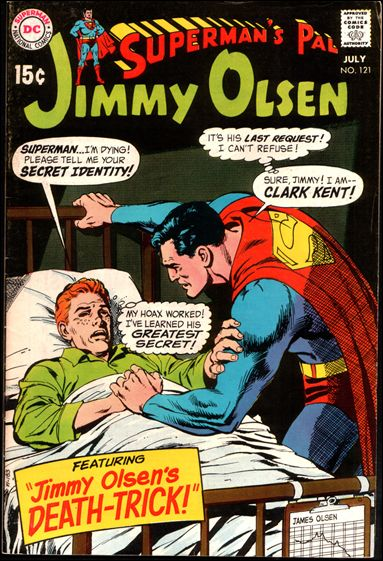 Superman's Pal Jimmy Olsen 121-A by DC