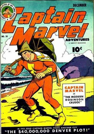 Captain Marvel Adventures 30-A by Fawcett