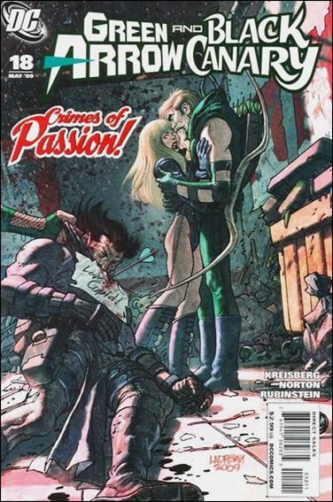Green Arrow/Black Canary 18-A by DC