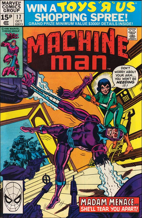 Machine Man (1978) 17-B by Marvel