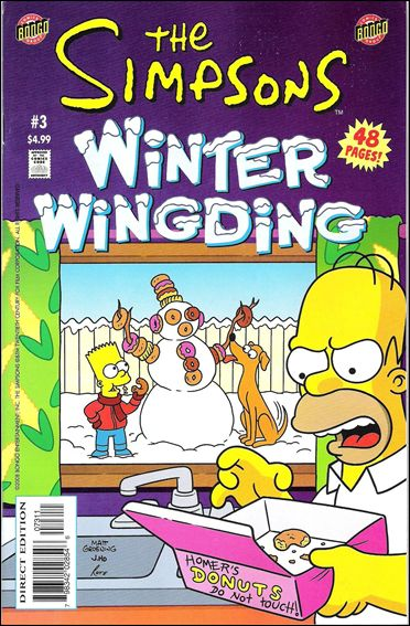 Simpsons Winter Wing Ding 3-A by Bongo