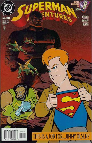 Superman Adventures 28-A by DC