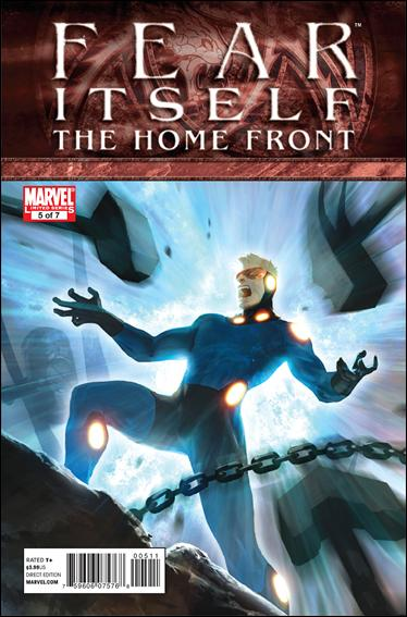 Fear Itself: The Home Front 5-A by Marvel
