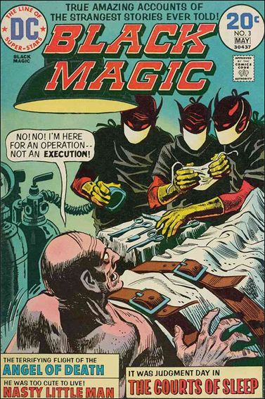 Black Magic (1973) 3-A by DC