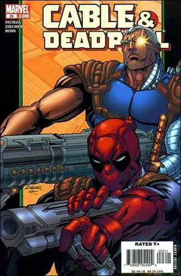 Cable & Deadpool 23-A by Marvel