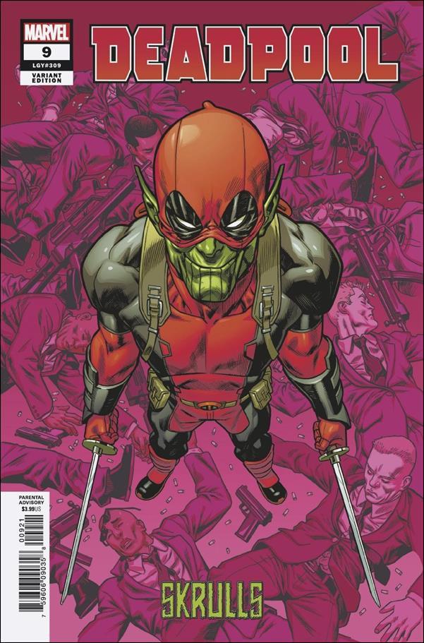 Deadpool (2018) 9-B by Marvel