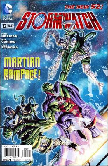 StormWatch (2011) 12-A by DC