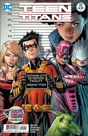 Teen Titans (2014) 22-A
