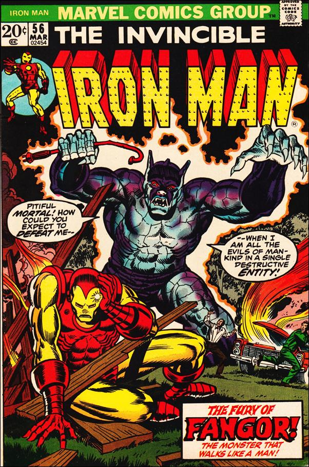 Iron Man (1968) 56-A by Marvel