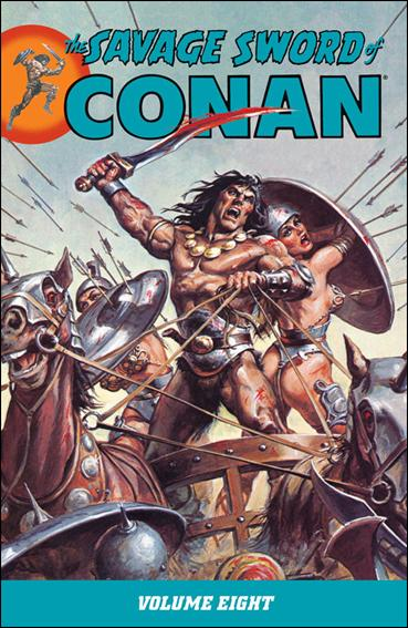 Savage Sword of Conan 8-A by Dark Horse