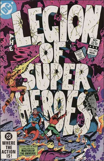 Legion of Super-Heroes (1980) 293-A by DC