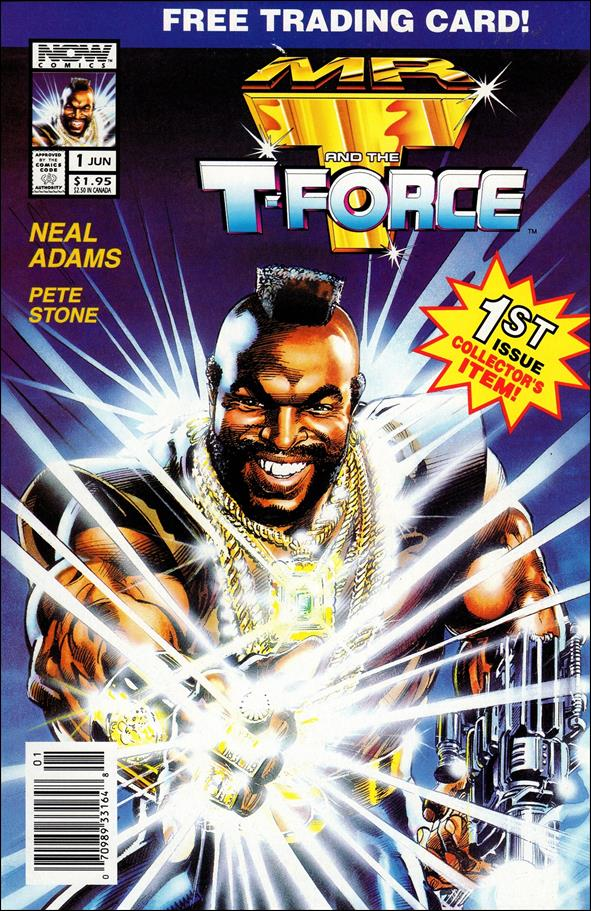 Mr. T and the T-Force 1-A by Now Comics