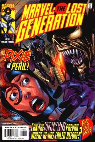 Marvel: The Lost Generation 8-A by Marvel