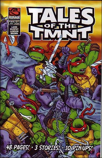 Tales of the TMNT 25-A by Mirage