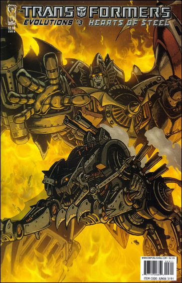 Transformers: Evolutions 3-A by IDW