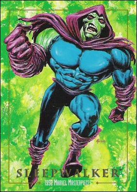 1992 Marvel Masterpieces (Base Set) 89-A by SkyBox