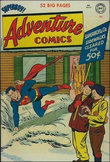 Adventure Comics (1938) 161-A by DC