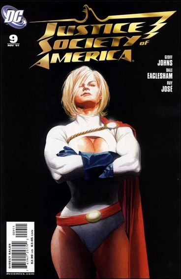Justice Society of America (2007) 9-A by DC