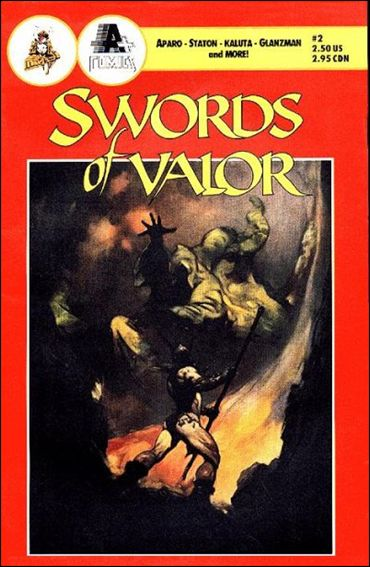 Swords of Valor  2-A by A+ Comics
