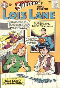 Superman's Girl Friend Lois Lane 56-A by DC
