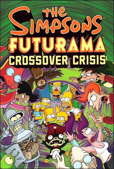 Simpsons/Futurama Crossover Crisis  1-A by Abrams ComicArts