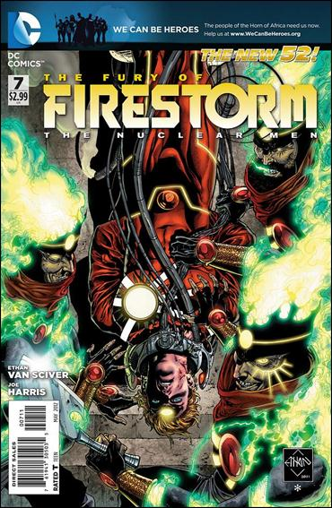 Fury of Firestorm: The Nuclear Men 7-A by DC