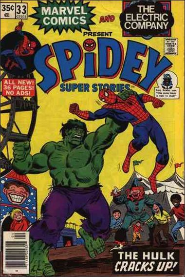 Spidey Super Stories 33-A by Marvel