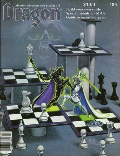 Dragon Magazine 86-A by Wizards of the Coast