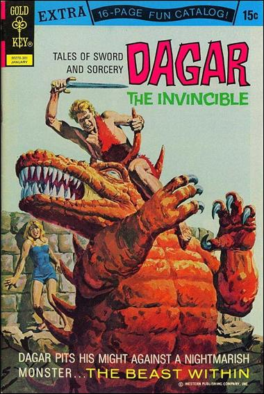 Dagar the Invincible 2-A by Gold Key