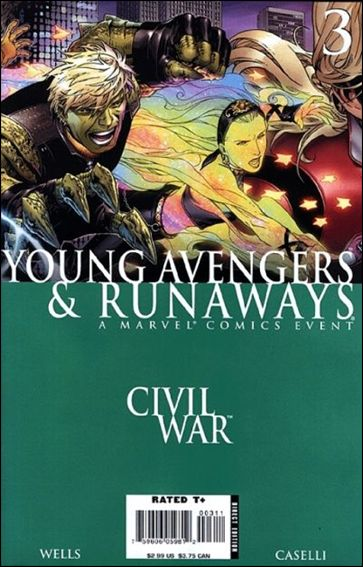 Civil War: Young Avengers & Runaways 3-A by Marvel