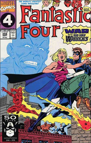 Fantastic Four (1961) 356-A by Marvel
