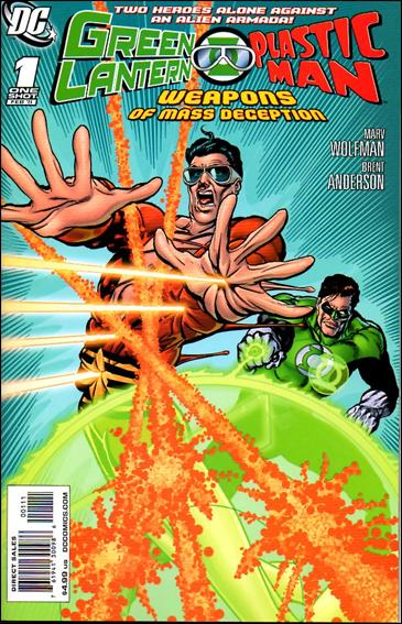 Green Lantern/Plastic Man: Weapons of Mass Deception 1-A by DC