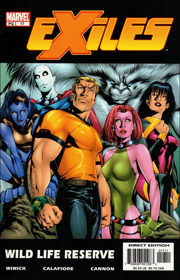 Exiles (2001) 17-A by Marvel