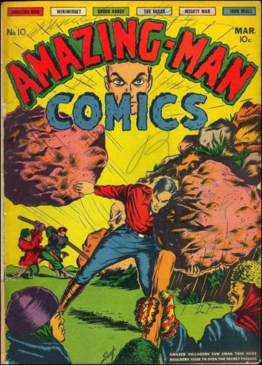 Amazing Man Comics 10-A by Centaur Publications Inc.