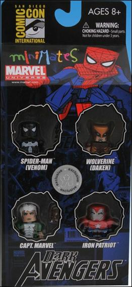Marvel Minimates (Box Sets) Dark Avengers #1 4-Pack (2009 SDCC & TRU Excl) by Diamond Select