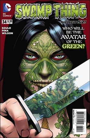 Swamp Thing (2011) 34-A
