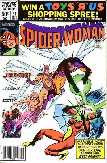 Spider-Woman (1978) 31-A by Marvel