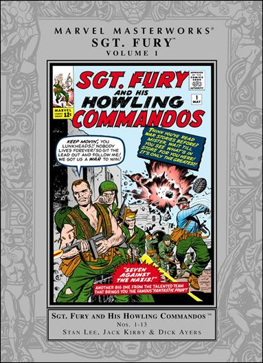 Marvel Masterworks: Sgt. Fury and His Howling Commandos 1-A by Marvel