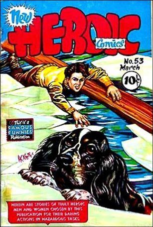 New Heroic Comics 53-A