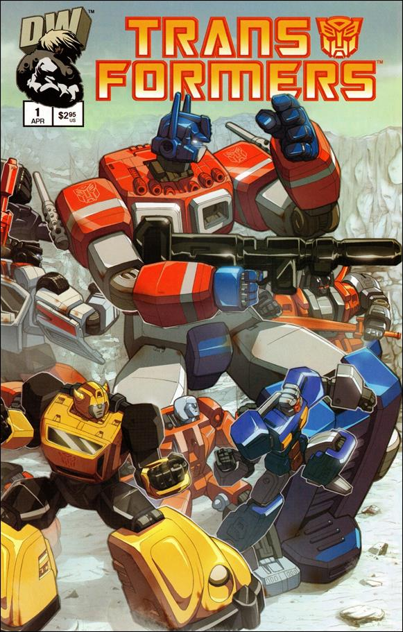 Transformers: Generation 1 (2003) 1-A by Dreamwave