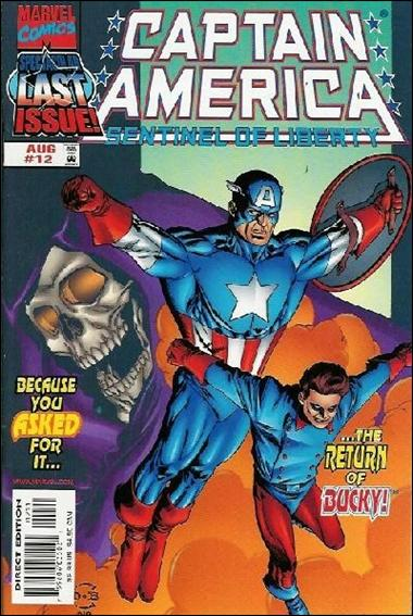 Captain America: Sentinel of Liberty 12-A by Marvel