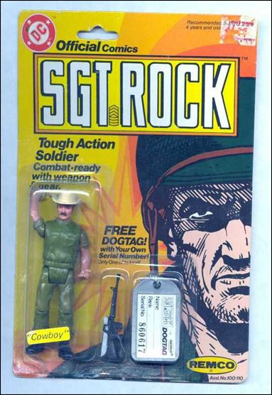 Sgt. Rock: Tough Action Soldiers  Cowboy by Remco