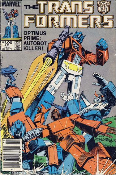 Transformers (1984) 12-B by Marvel