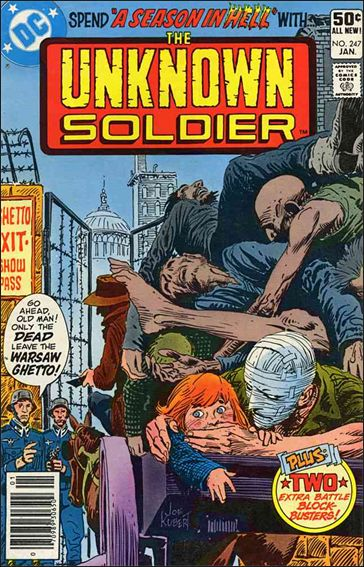 Unknown Soldier (1977)  247-A by DC