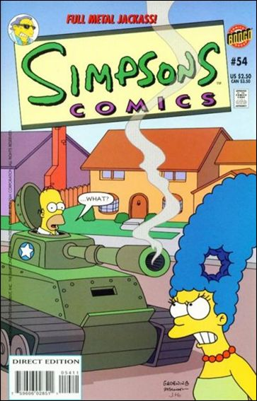 Simpsons Comics 54-A by Bongo