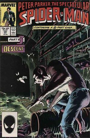 Spectacular Spider-Man (1976) 131-A