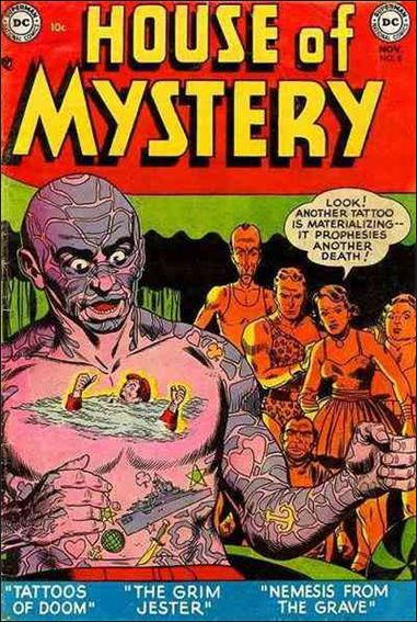 House of Mystery (1951) 8-A by DC