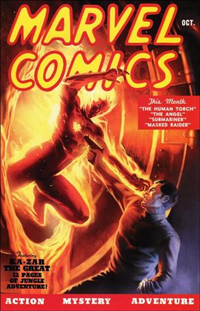 Marvel Comics: 70th Anniversary Edition 1-A