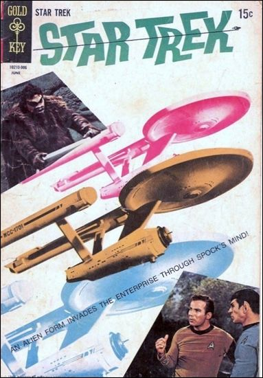 Star Trek (1967) 4-A by Gold Key